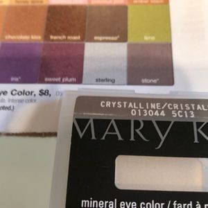 NEW Marykay mineral eye color, Crystalline